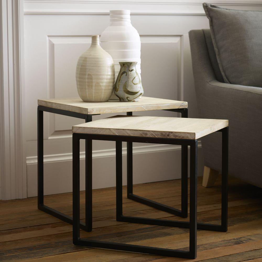 Box Frame Nesting Tables