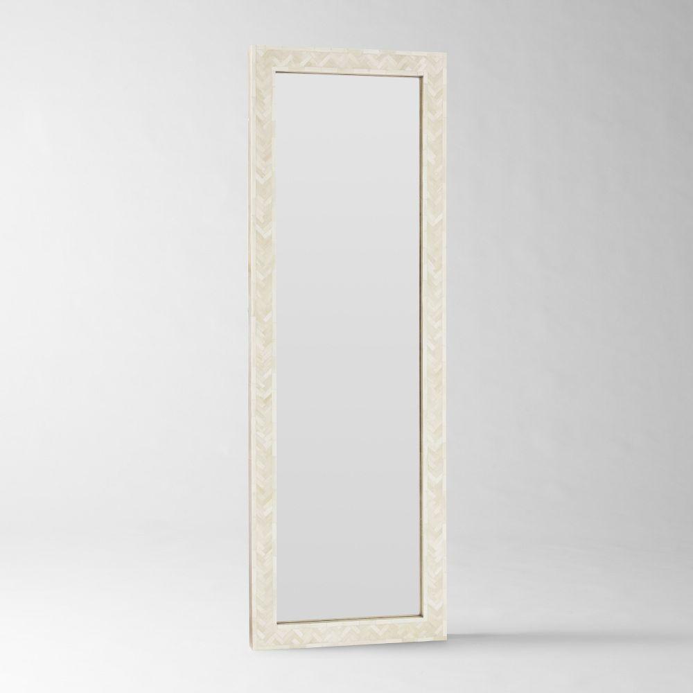 Parsons Floor Mirror Bone Inlay West Elm Australia