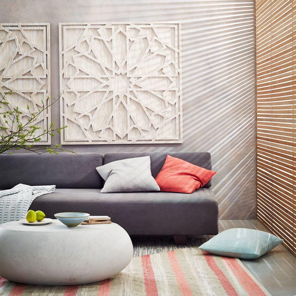 whitewashed wood wall art west elm australia. Black Bedroom Furniture Sets. Home Design Ideas