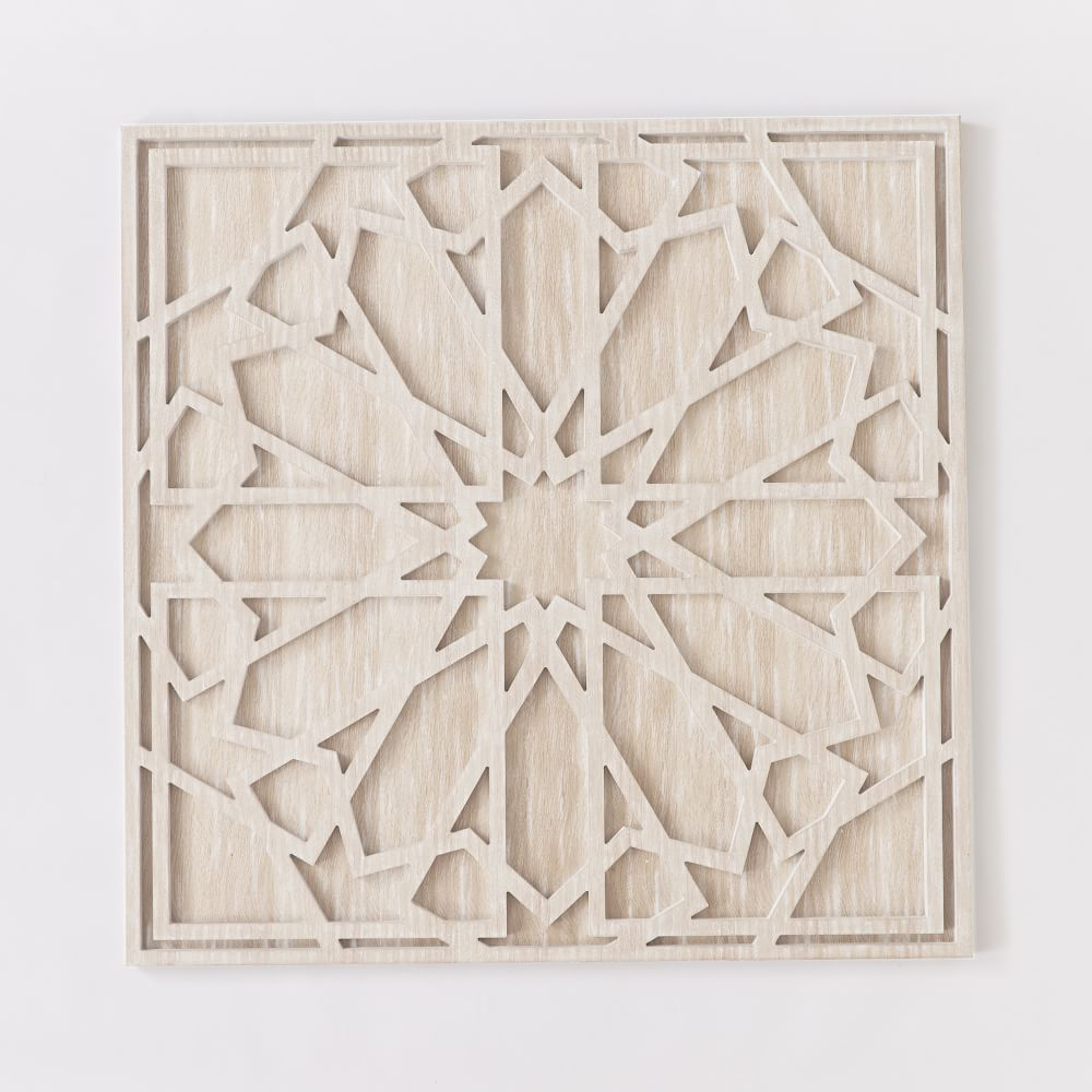 Whitewashed wood wall art west elm au for White wall decor