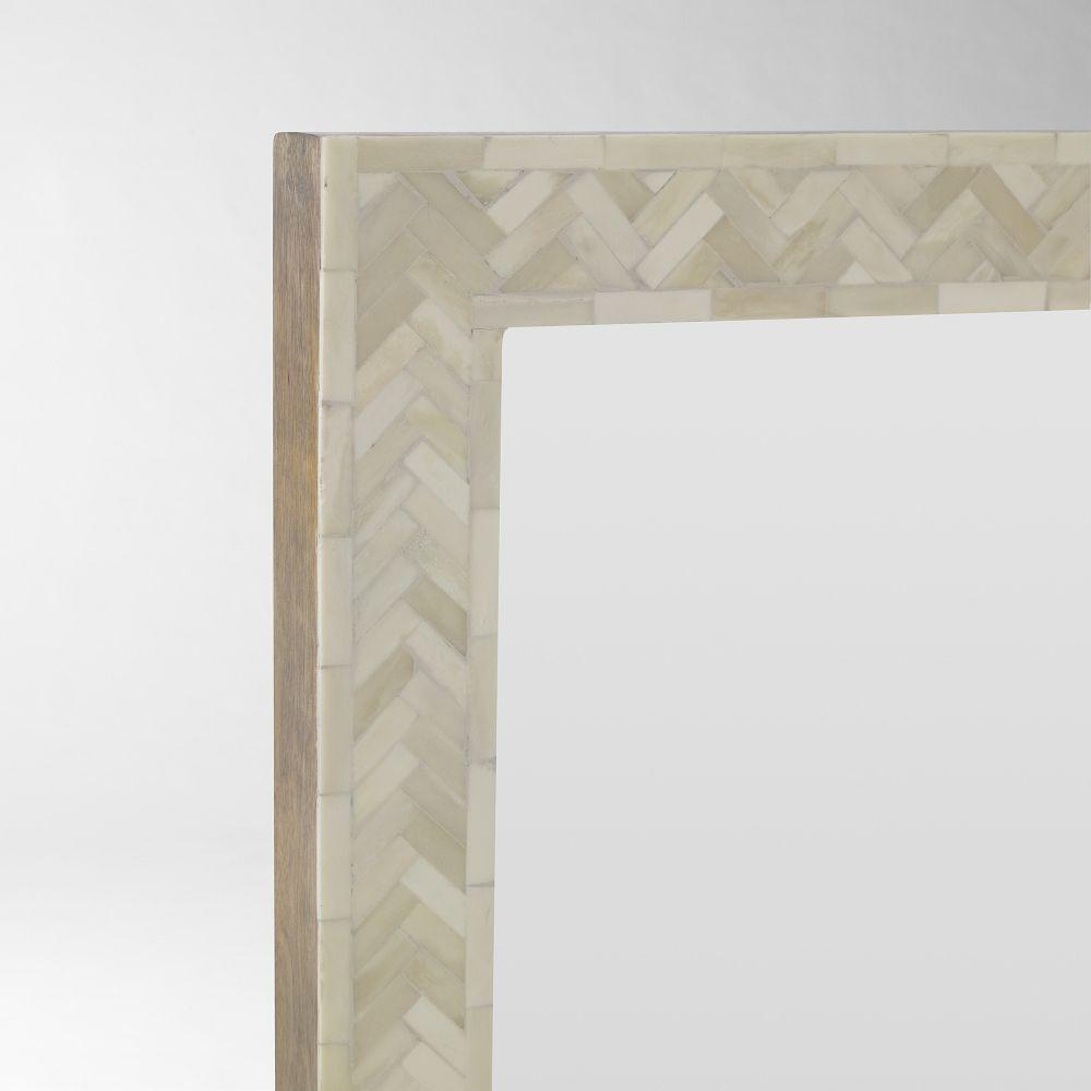 Parsons Floor Mirror - Bone Inlay | west elm Australia
