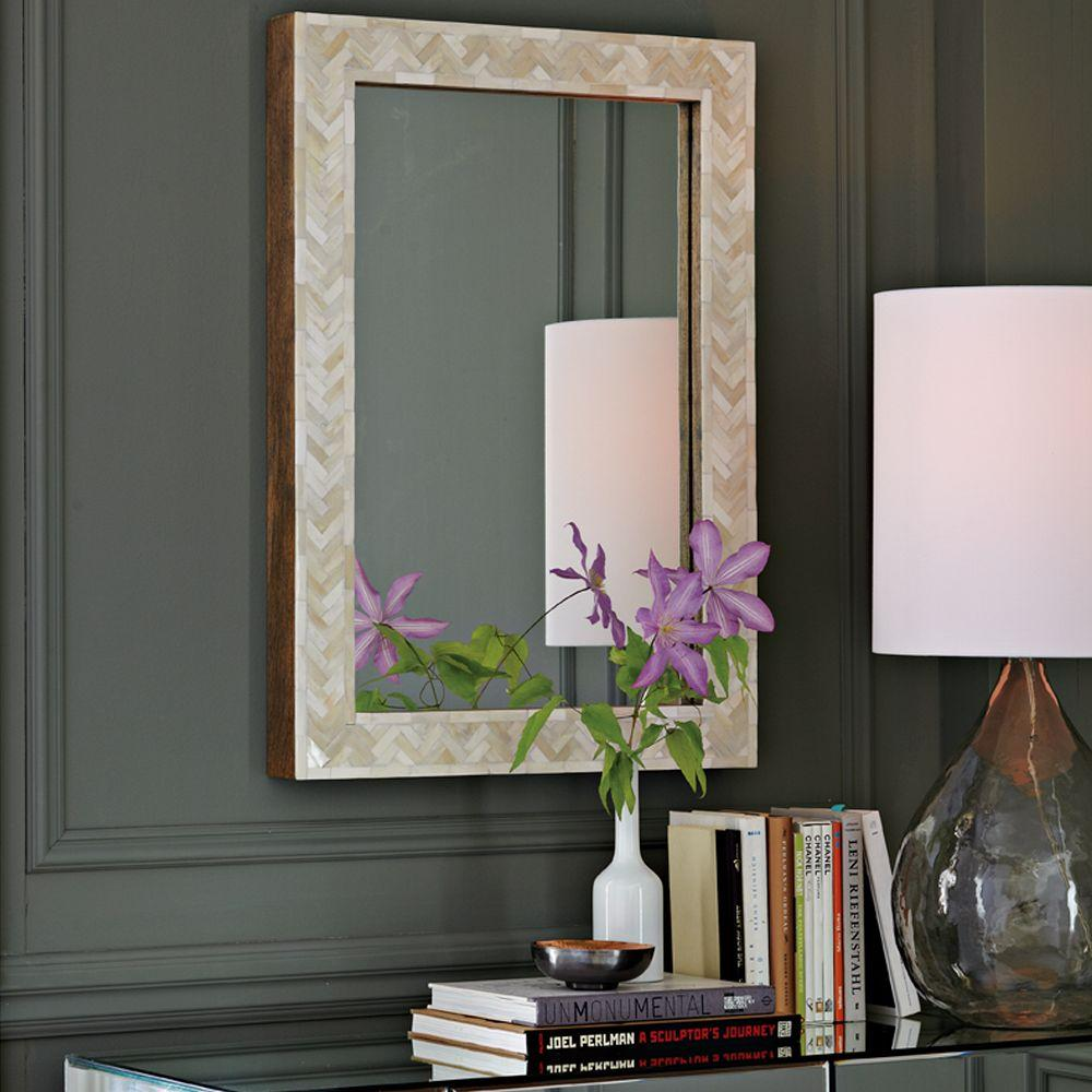 Parsons small wall mirror bone inlay west elm au parsons small wall mirror bone inlay amipublicfo Choice Image