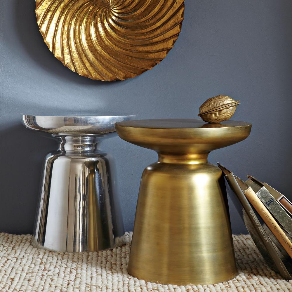 coffee side console tables martini side table metallics