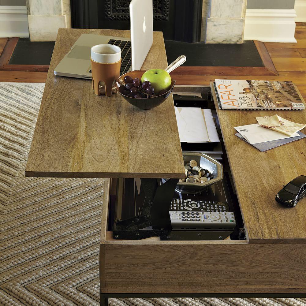 Industrial Storage Coffee Table - Industrial Storage Coffee Table West Elm AU
