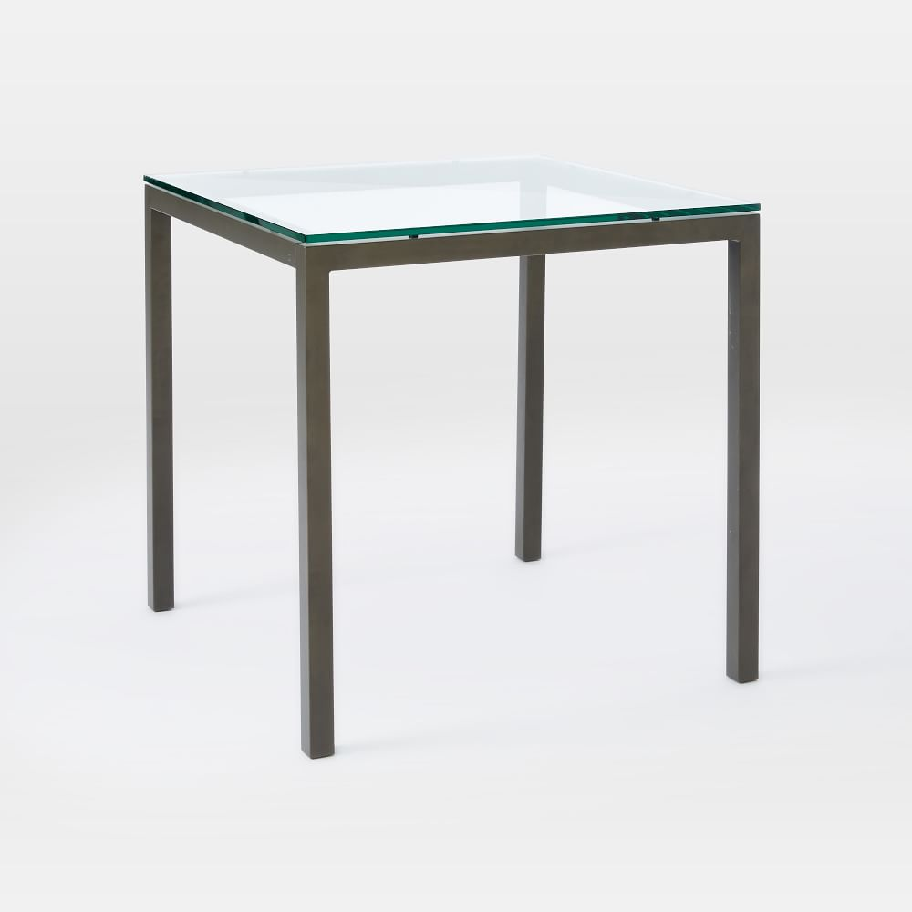 box frame square dining table glass west elm au