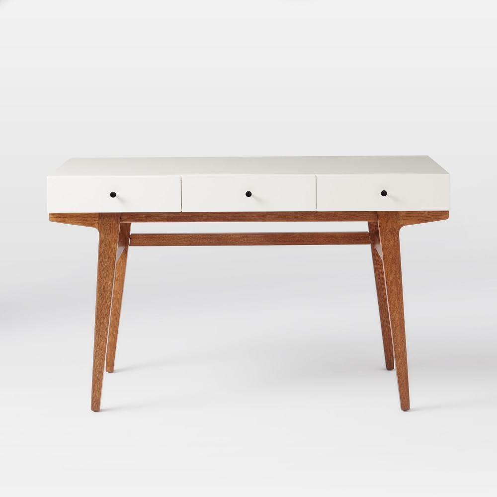 Modern Office Desk ~ Modern desk west elm australia