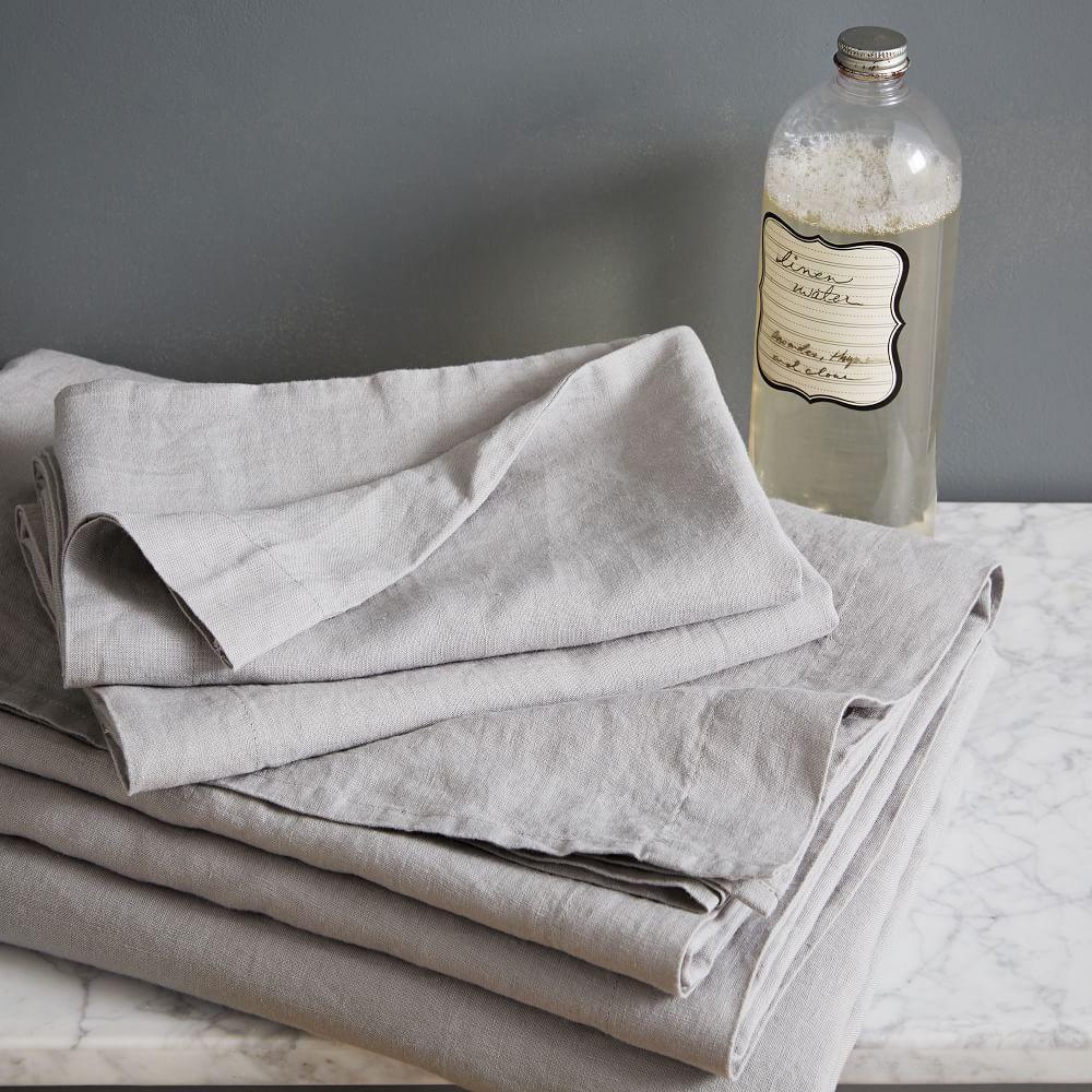 Belgian Flax Linen Sheet Set West Elm Australia