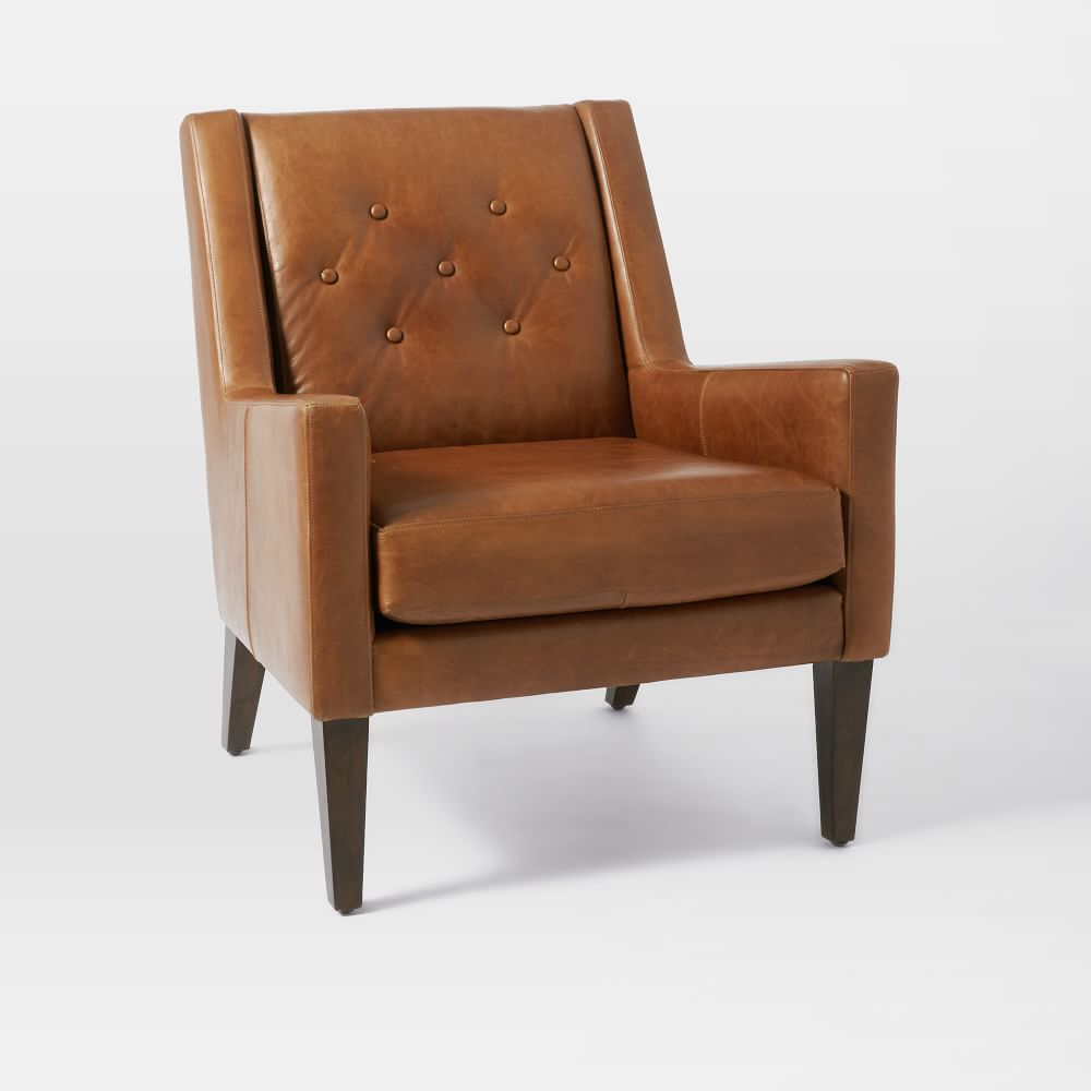 home library leather chair