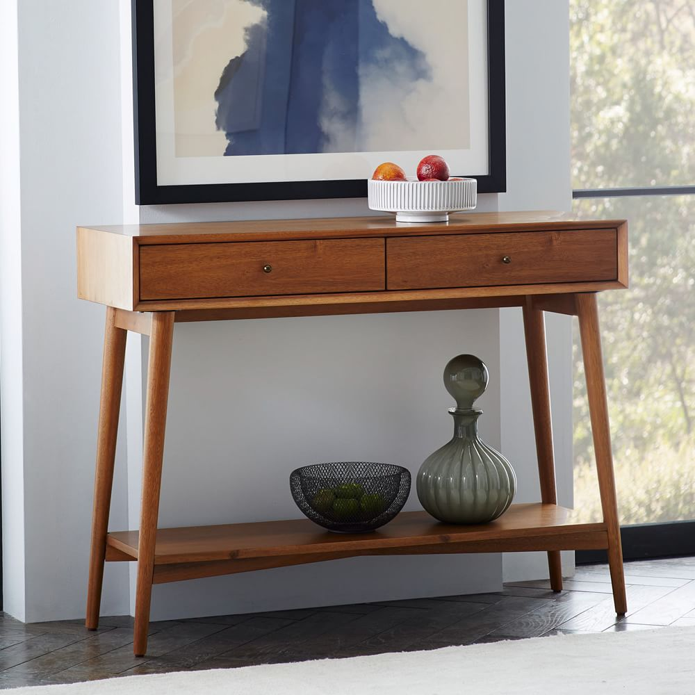 Foyer Table West Elm : Mid century console