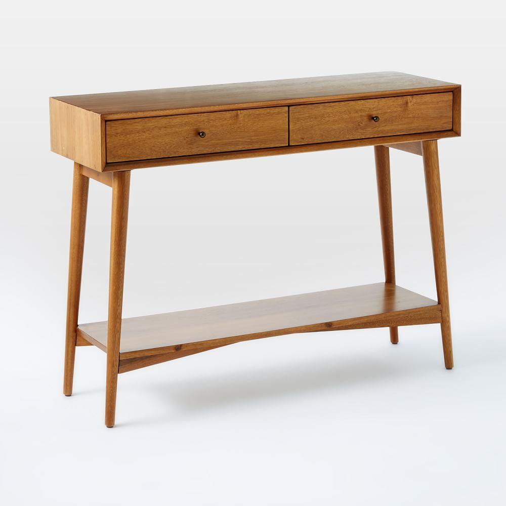 Mid Century Sofa Table: Mid-Century Console