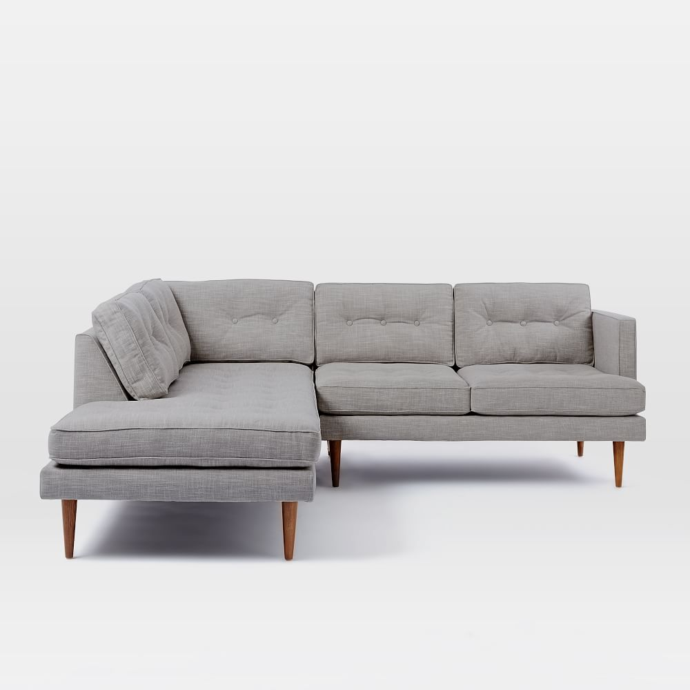 Peggy Mid Century Terminal Chaise Sectional West Elm AU