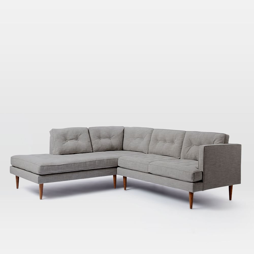 broyhill veronica raw chaise sectional