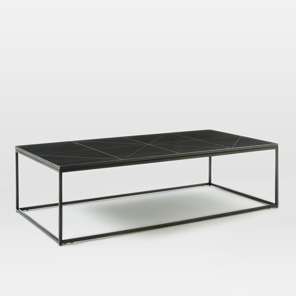 Etched Granite Coffee Table