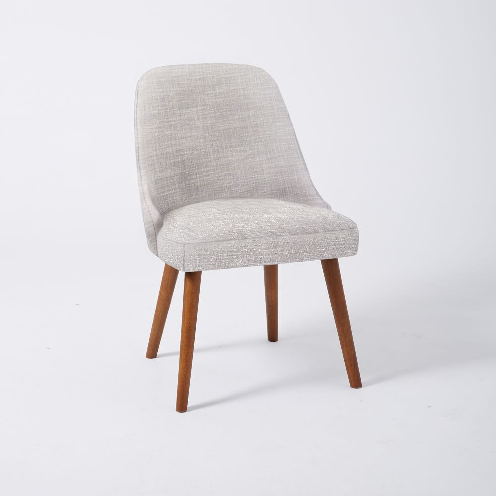 Mid century dining chairs walnut legs