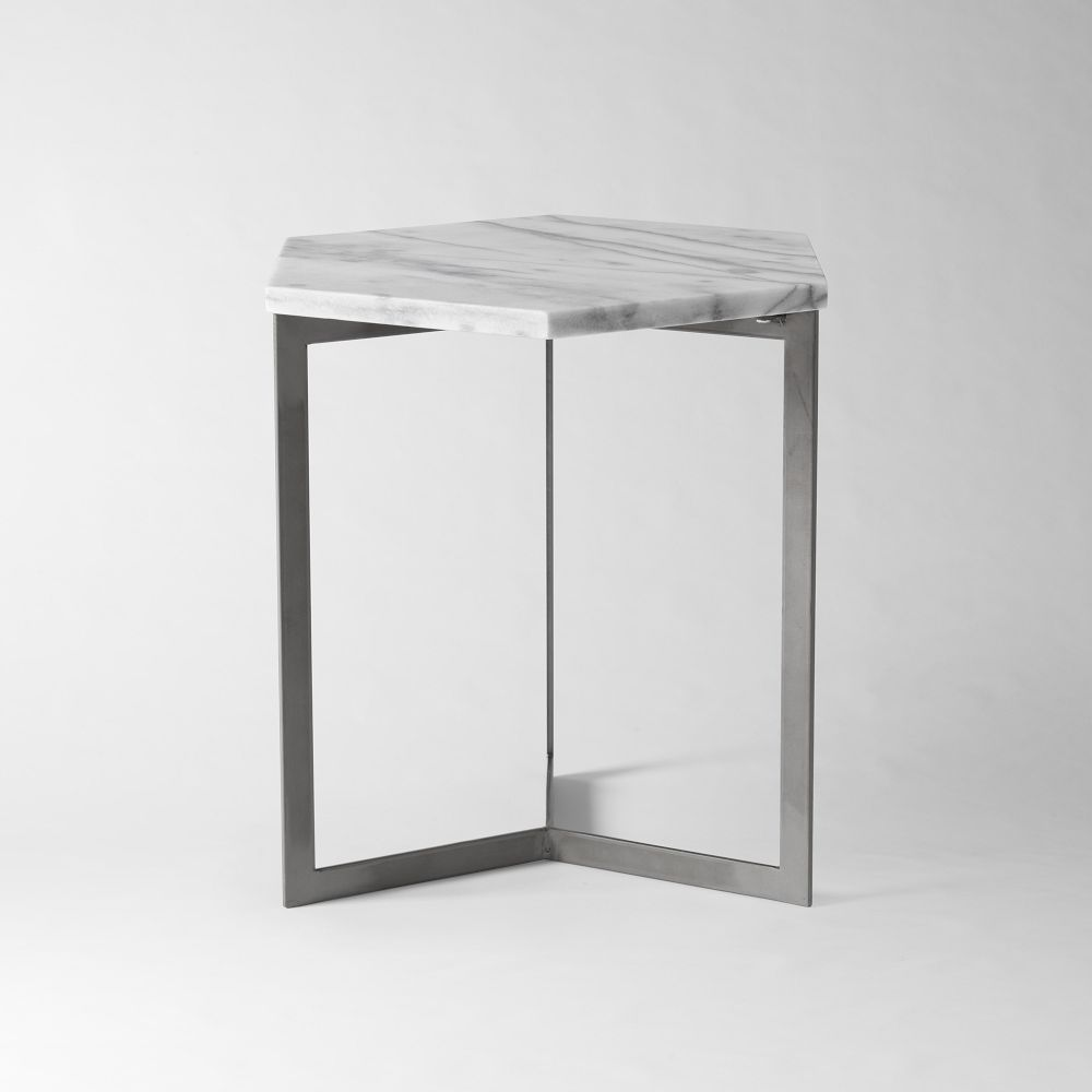 Hex side table west elm australia for West elm c table