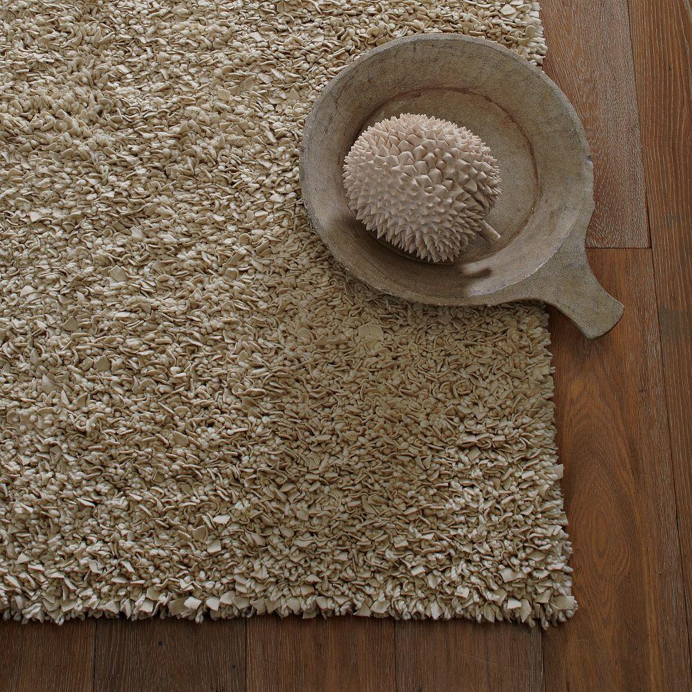 Cosy Textured Wool Rug