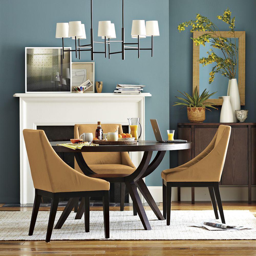 arc base pedestal table west elm au. Black Bedroom Furniture Sets. Home Design Ideas
