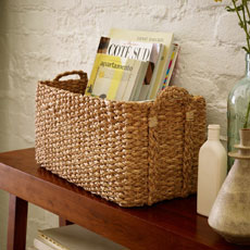 Braided Console Basket