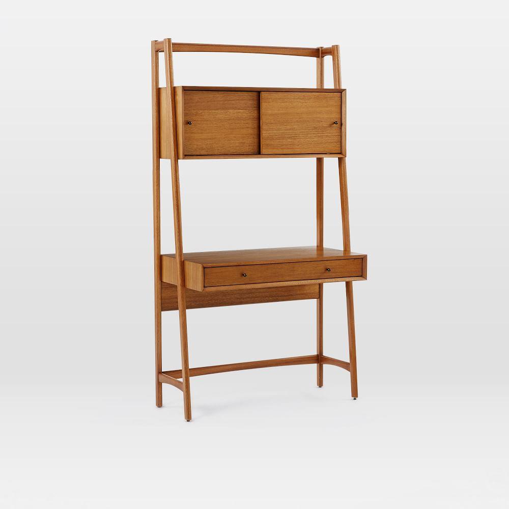 mid century wall desk west elm australia. Black Bedroom Furniture Sets. Home Design Ideas