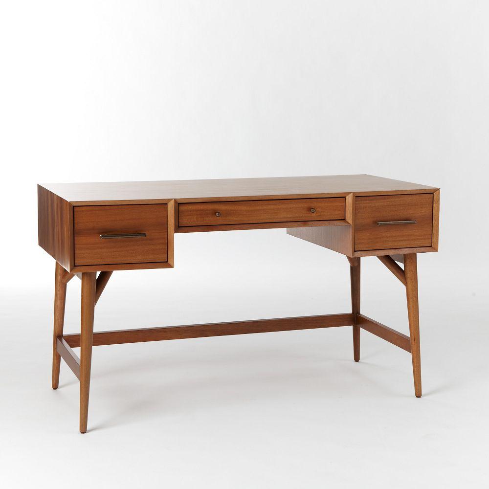 midcentury desk  acorn  west elm au - midcentury desk  acorn