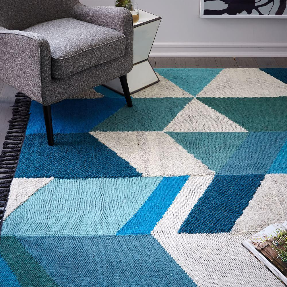 Art Kilim Wool Rug: Modern Furniture, Home Decor & Home Accessories