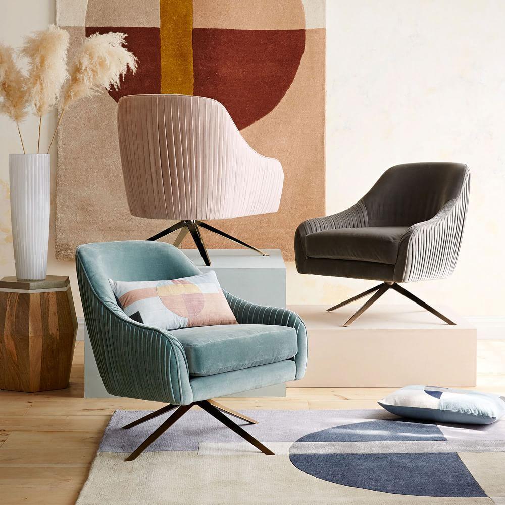 Roar + Rabbit™ Swivel Chair - Dusty Blush