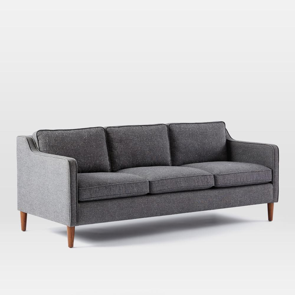Contemporary Sofa Chairs: Hamilton Upholstered Sofa (206 Cm)
