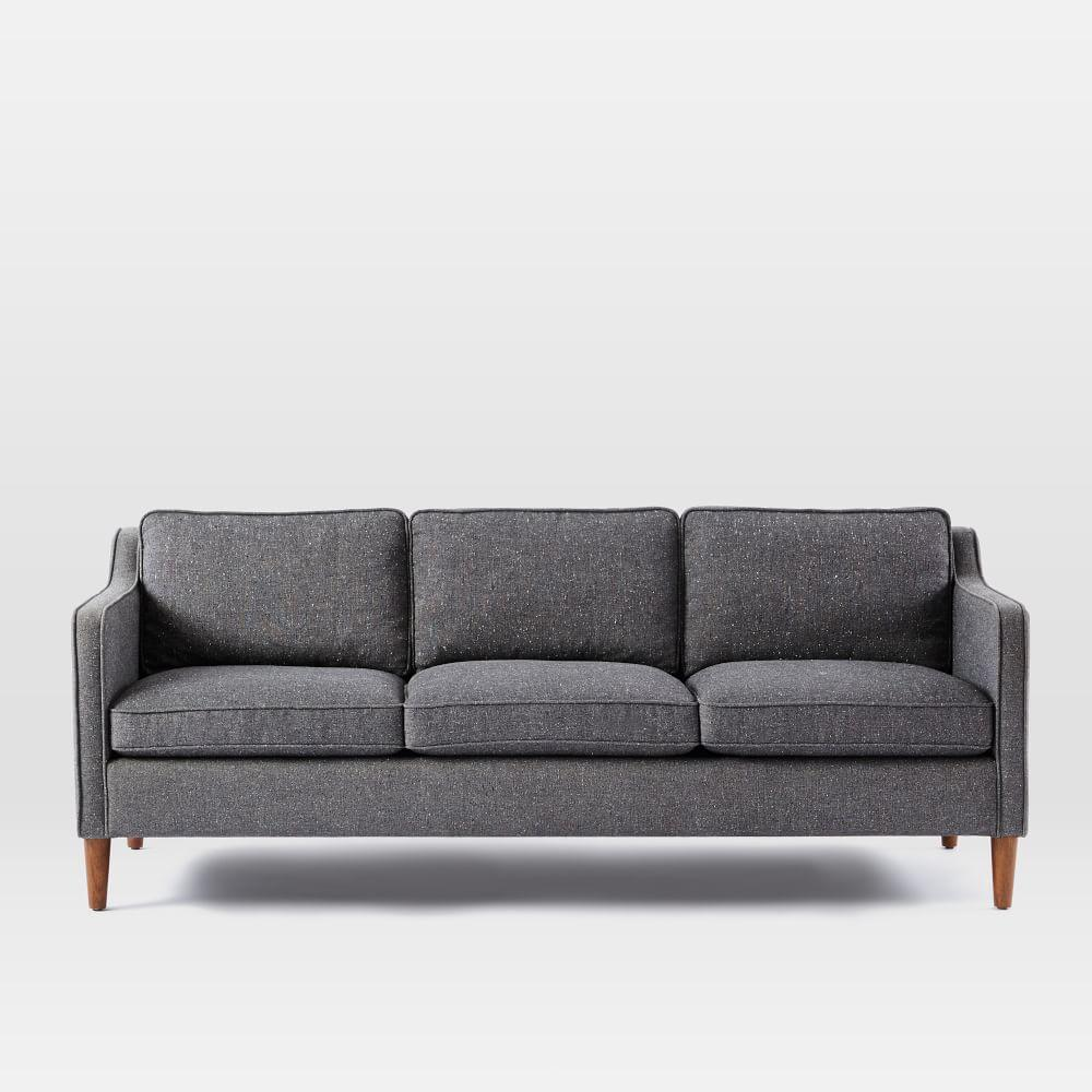 Hamilton Upholstered Sofa 206 Cm West Elm Au
