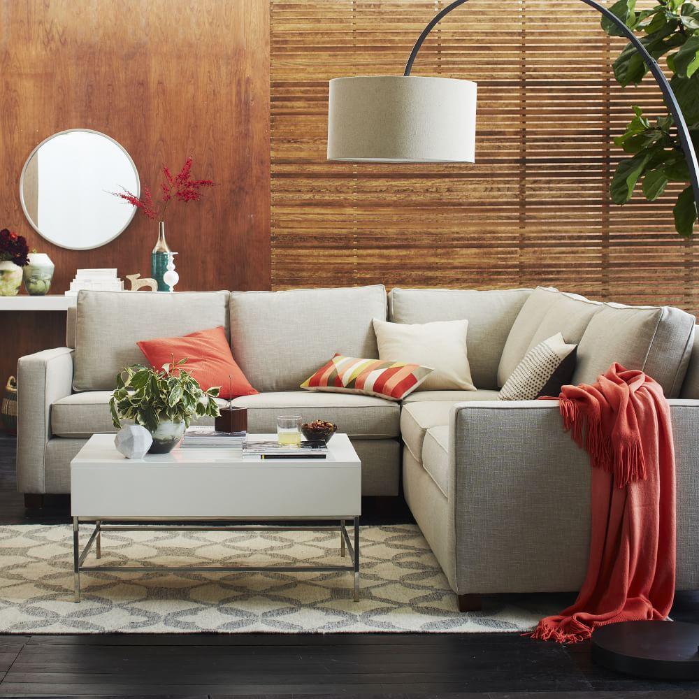 Tile Wool Kilim Platinum