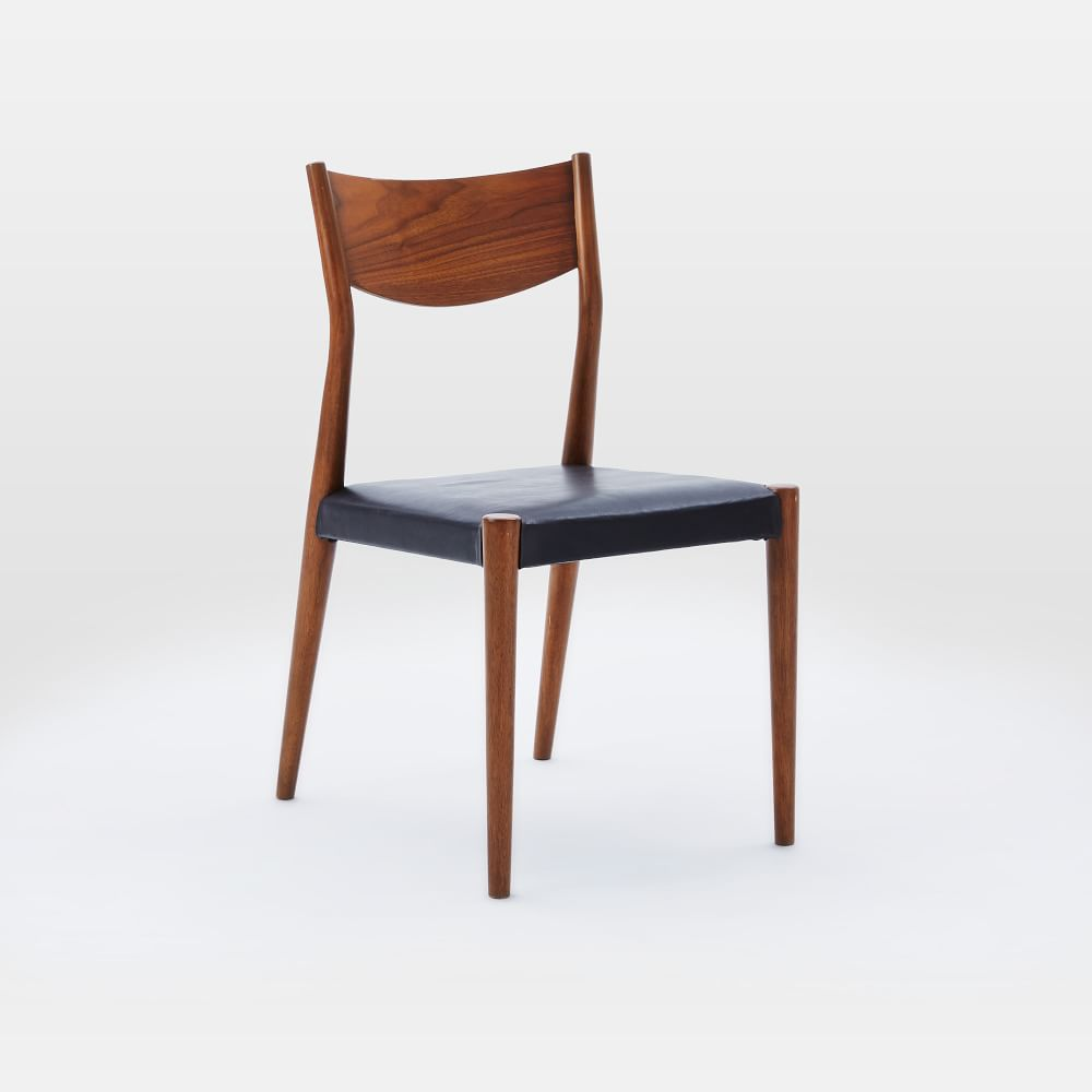 Tate Leather Dining Chair West Elm Au