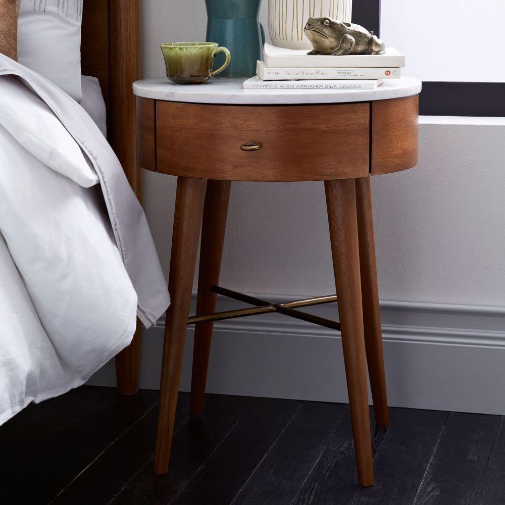 penelope bedside table west elm au. Black Bedroom Furniture Sets. Home Design Ideas