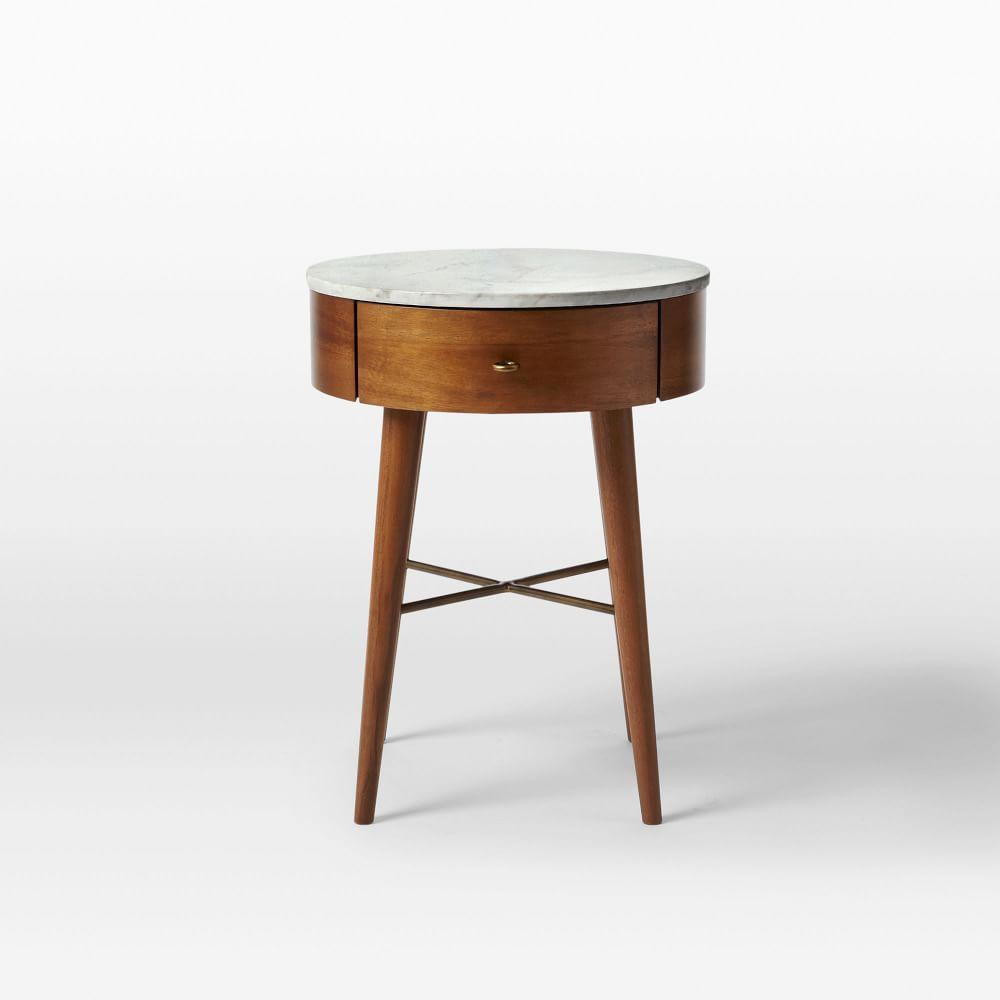 Bedside Tables West Elm Australia - West elm gold side table