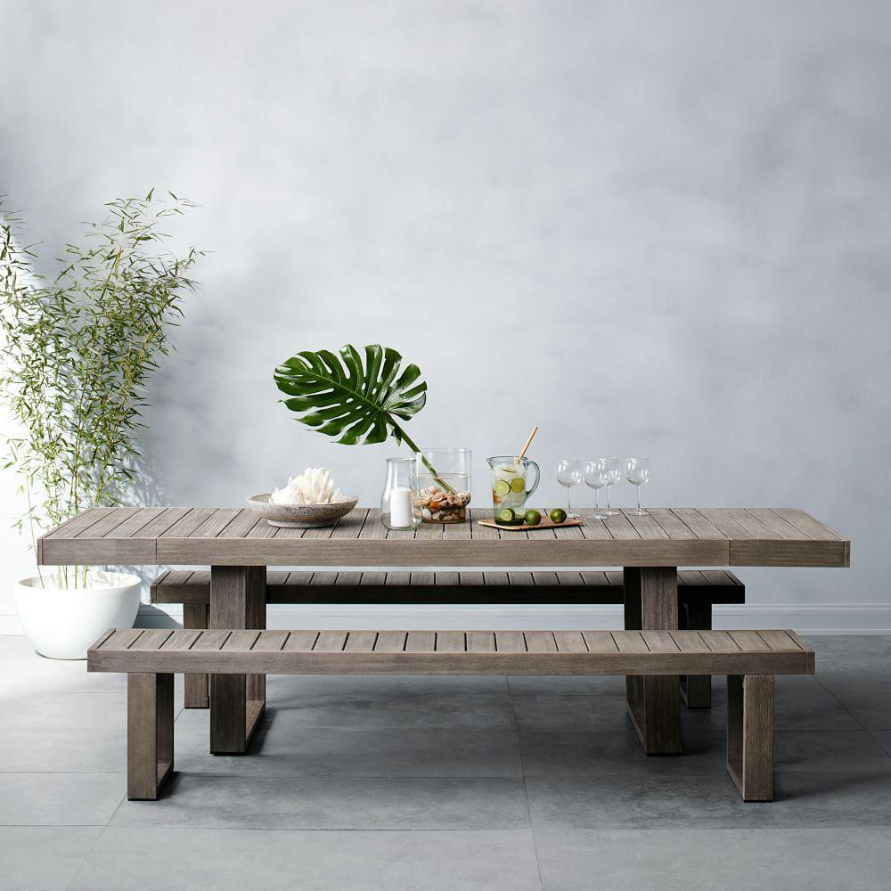 Patio Tables Dining: Portside Expandable Dining Table