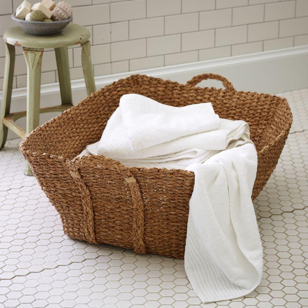 Braided French Laundry Basket West Elm Australia