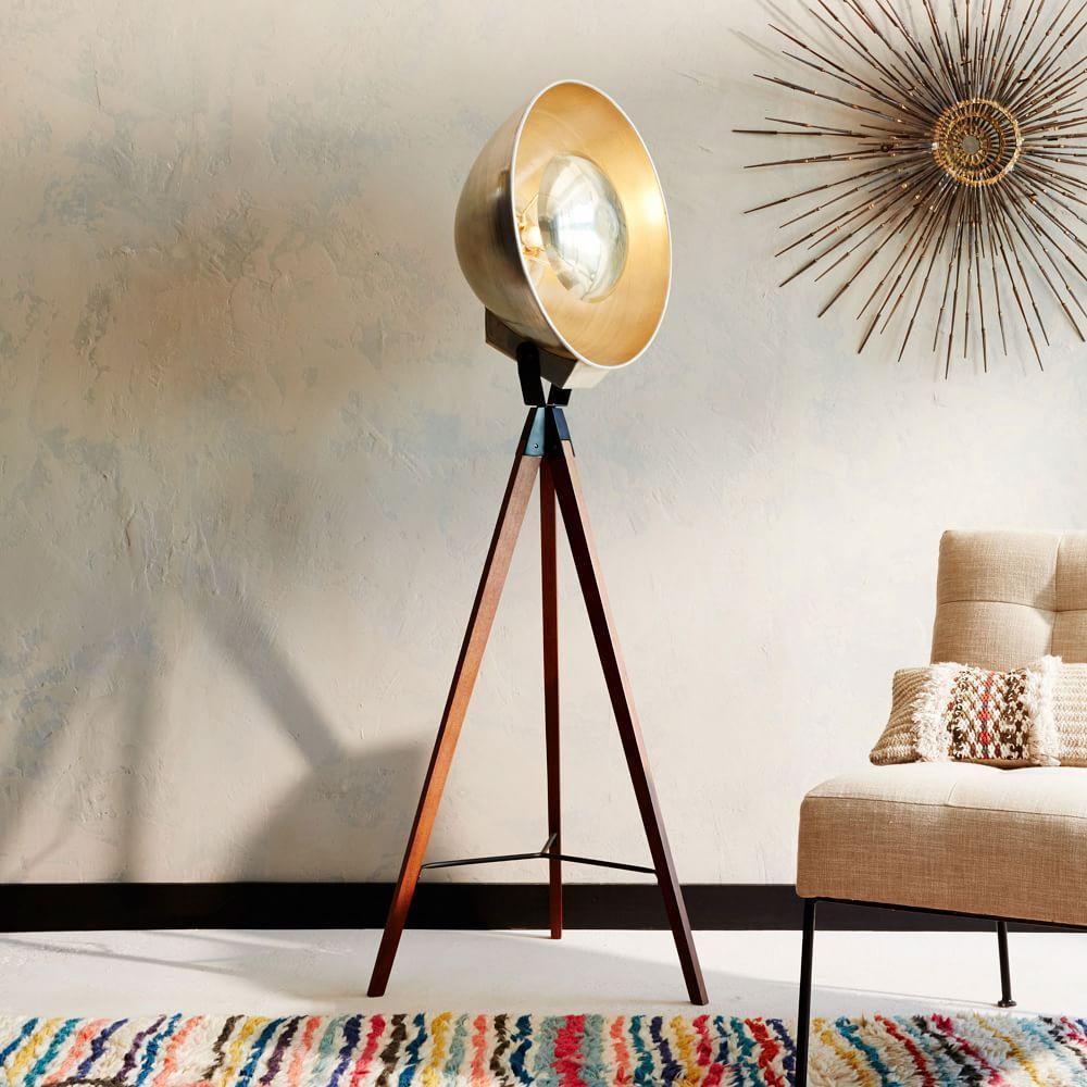 Studio tripod floor lamp west elm australia studio tripod floor lamp studio tripod floor lamp mozeypictures Images