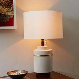 Roar + Rabbit™ Crackle Glaze Ceramic Table Lamp - Small