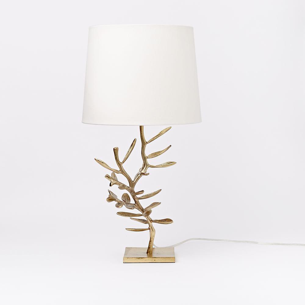 Botanical Metal Table Lamp West Elm Au