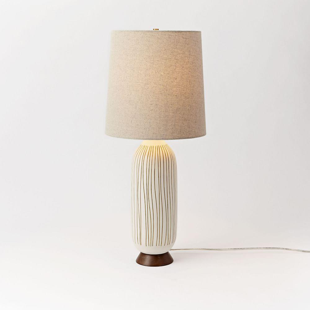 Mid Century Table Lamp Bullet West Elm Australia