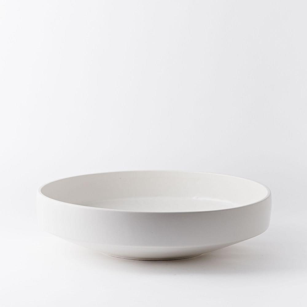 Pure White Ceramic Centrepiece Bowl