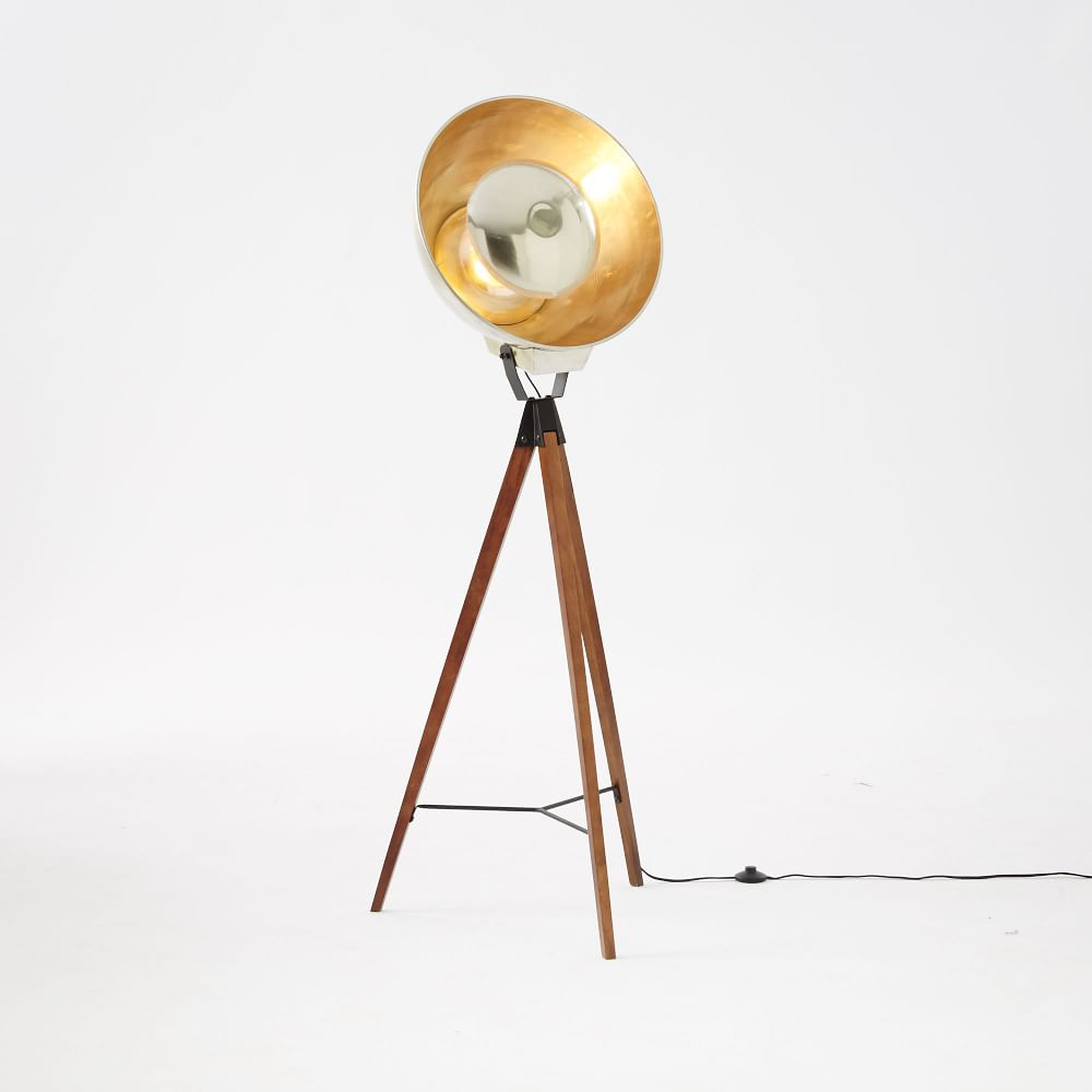 Studio Tripod Floor Lamp West Elm Australia