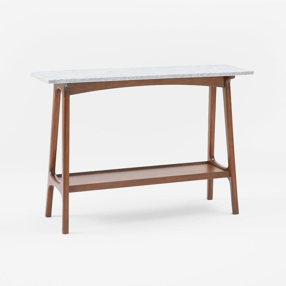 Outdoor buffet table serving cart as well century modern console table - Reeve Mid Century Console