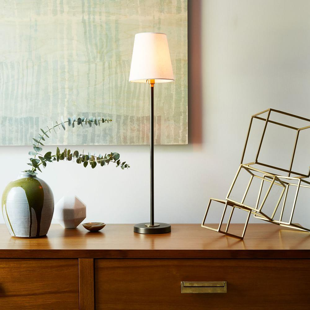 Arc mid century table lamp tall antique bronze west elm australia arc mid century table lamp tall antique bronze aloadofball Image collections