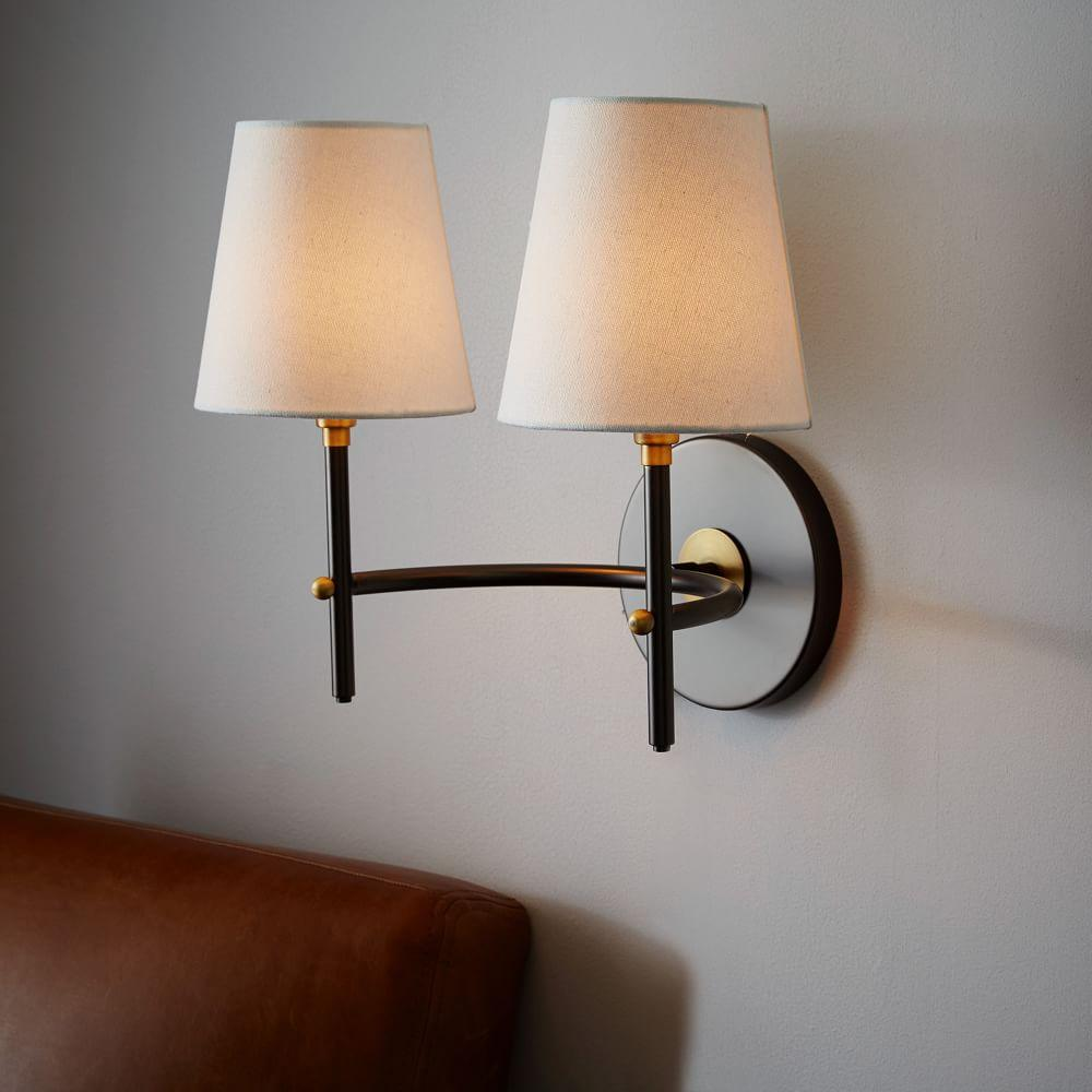 mid sconces sconce italian white pair lighting f the and lights wall century stilnovo of id dsc style in black furniture