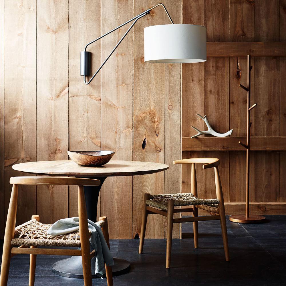 mid century overarching wall sconce west elm australia. Black Bedroom Furniture Sets. Home Design Ideas