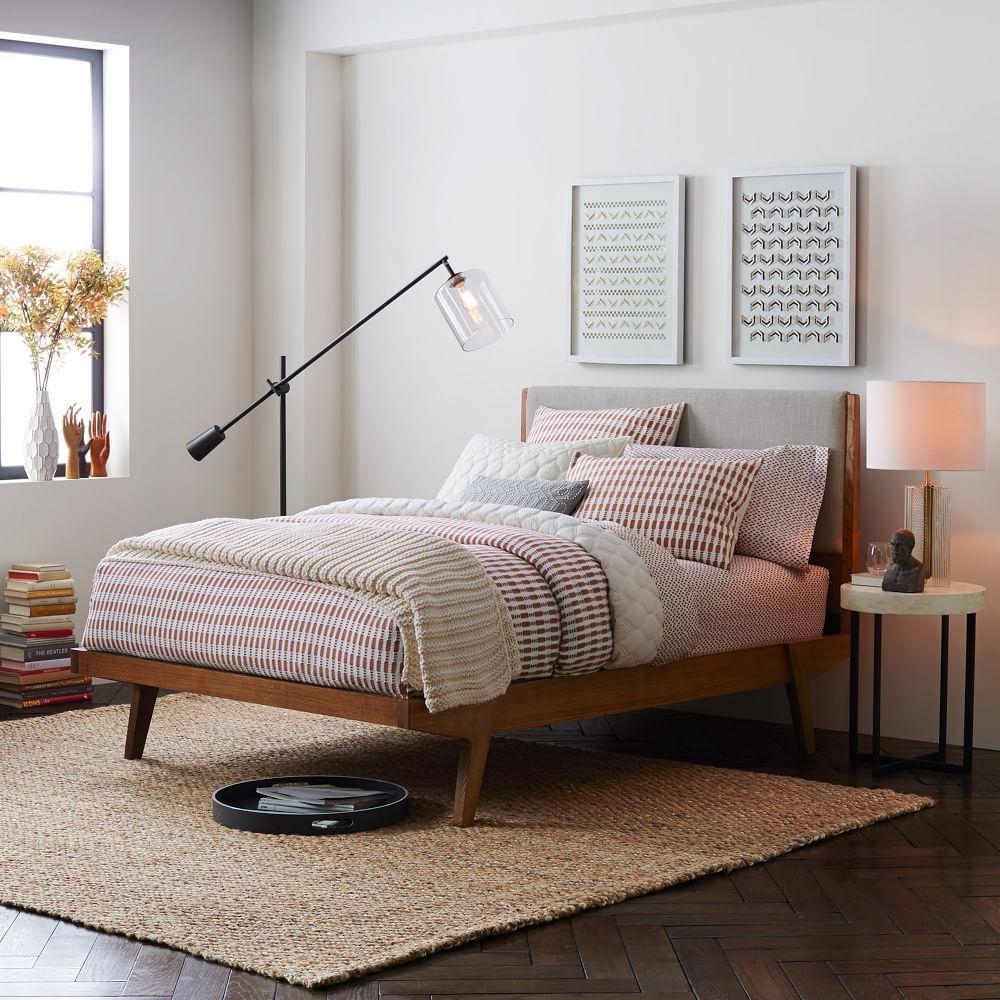 modern bed linen weave west elm australia. Black Bedroom Furniture Sets. Home Design Ideas