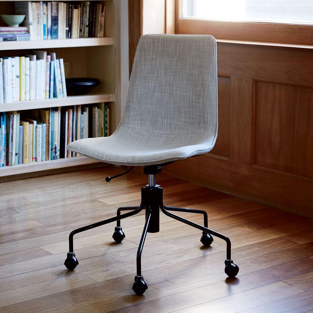slope upholstered office chair west elm australia