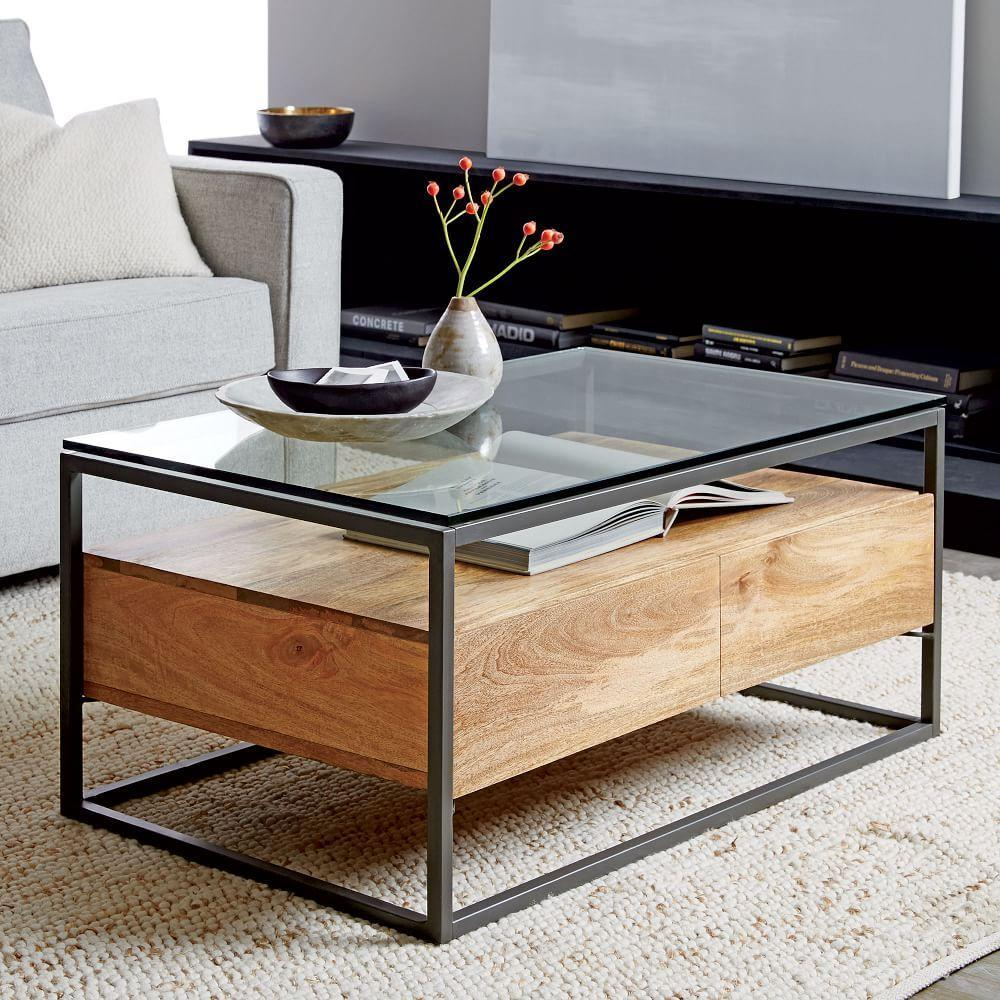 Box Frame Storage Coffee Table West Elm Au