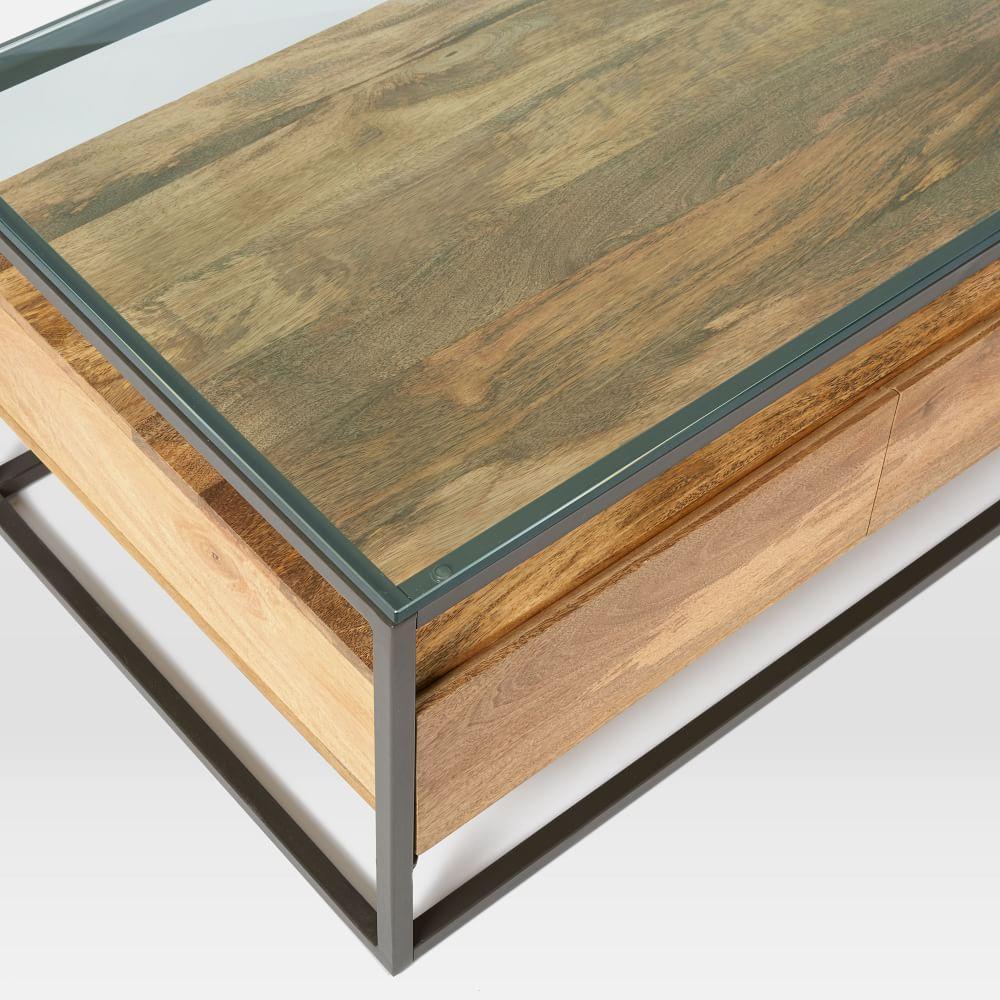 Box Frame Storage Coffee Table West Elm Au