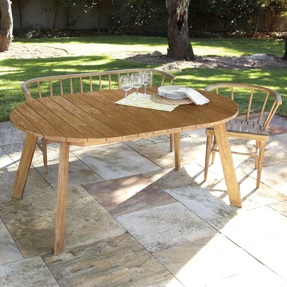 Dexter Outdoor Expandable Dining Table