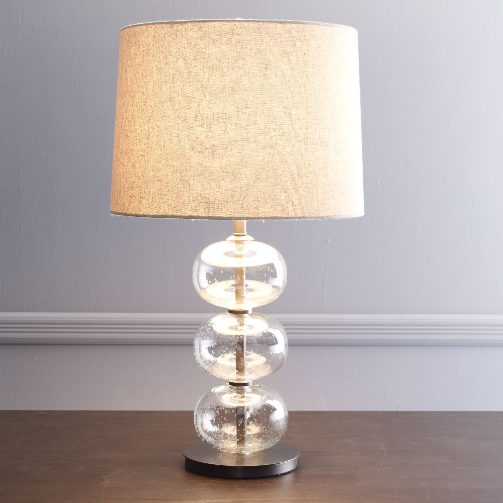 Abacus table lamp clear west elm australia for F k a table lamp